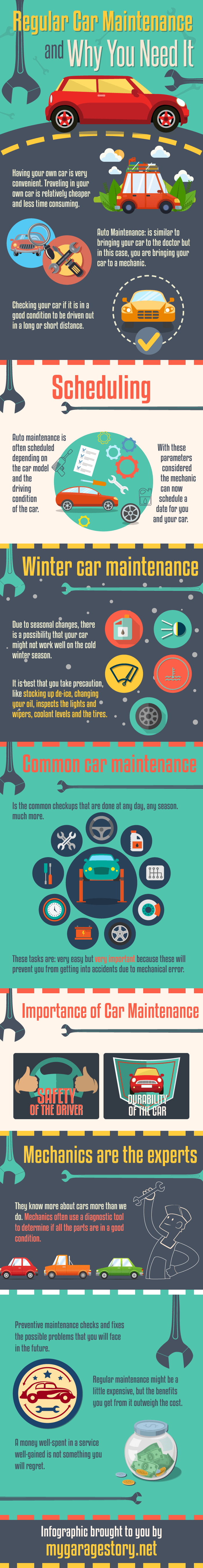 Regular Car Maintenance And Why You Need It infographic