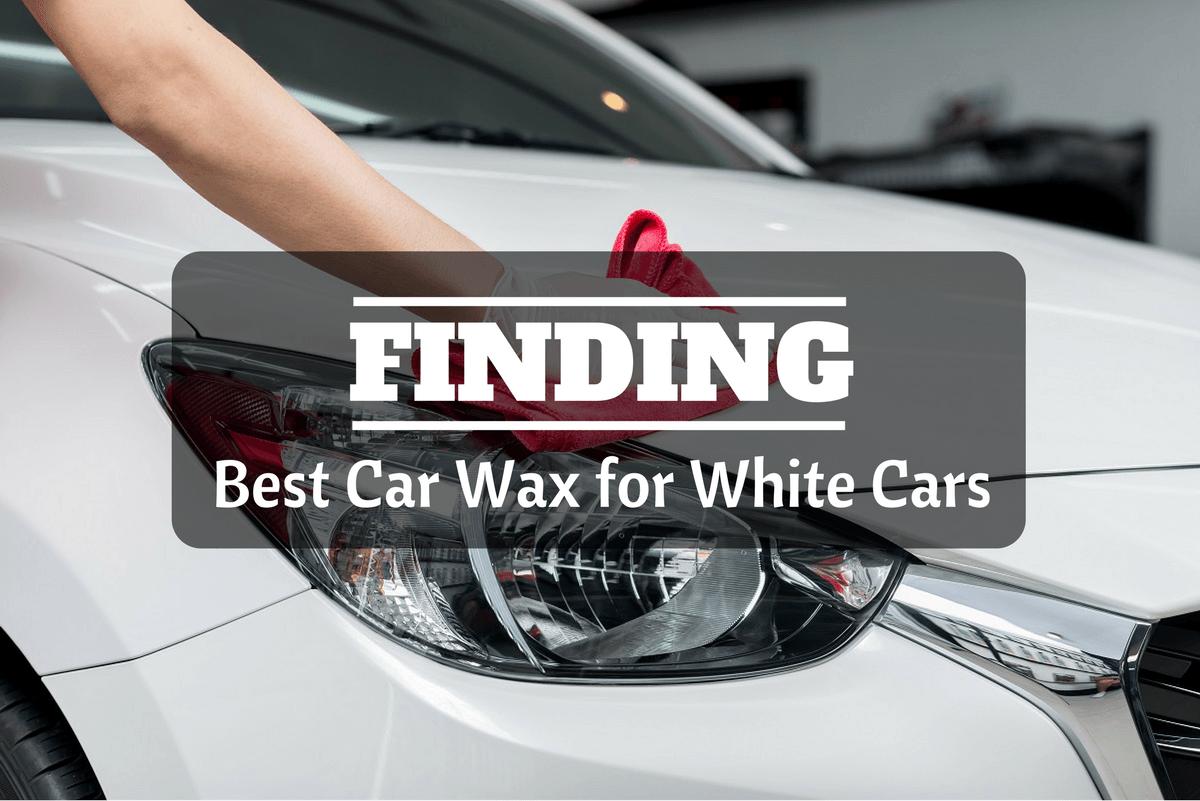 best car wax for white cars automotive blog. Black Bedroom Furniture Sets. Home Design Ideas
