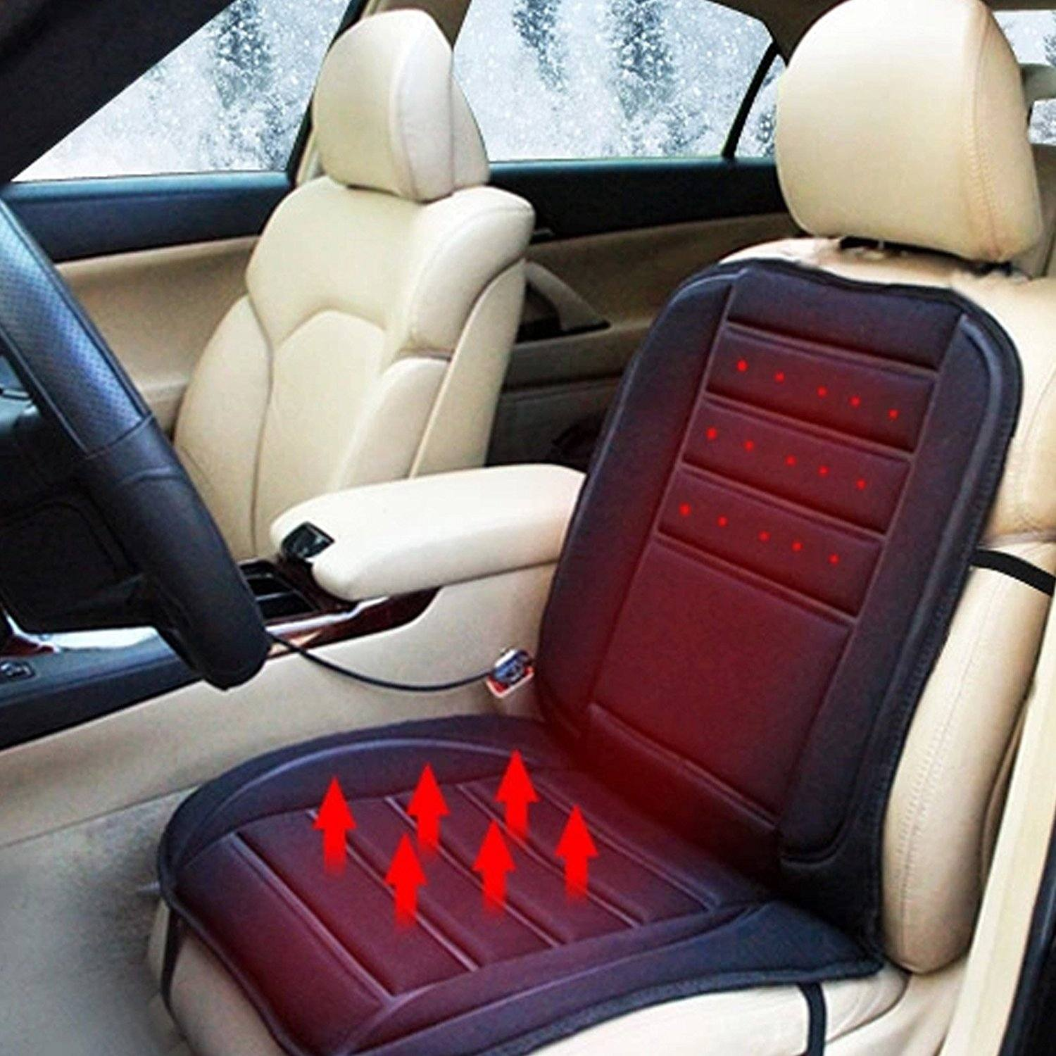 finding the top 5 best heated car seat covers with reviews in market. Black Bedroom Furniture Sets. Home Design Ideas