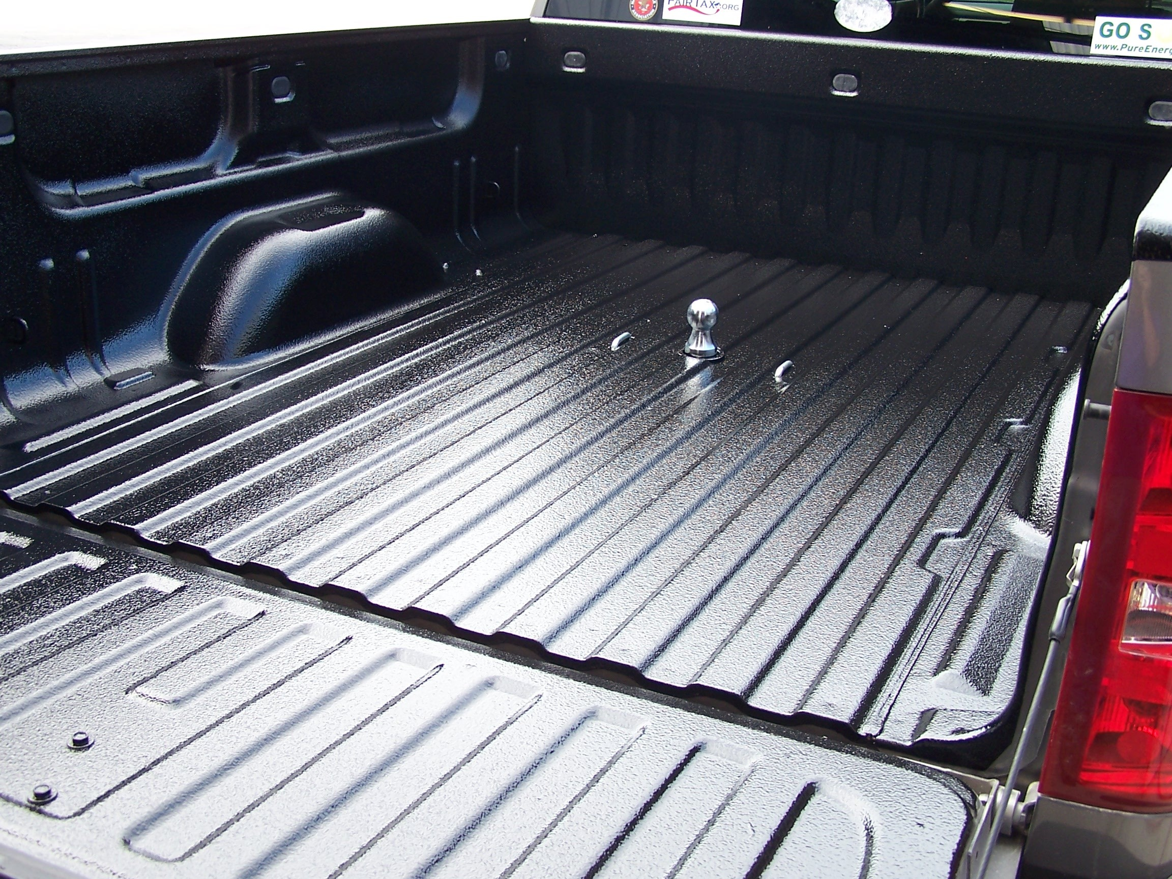Truck Bed Spray Paint