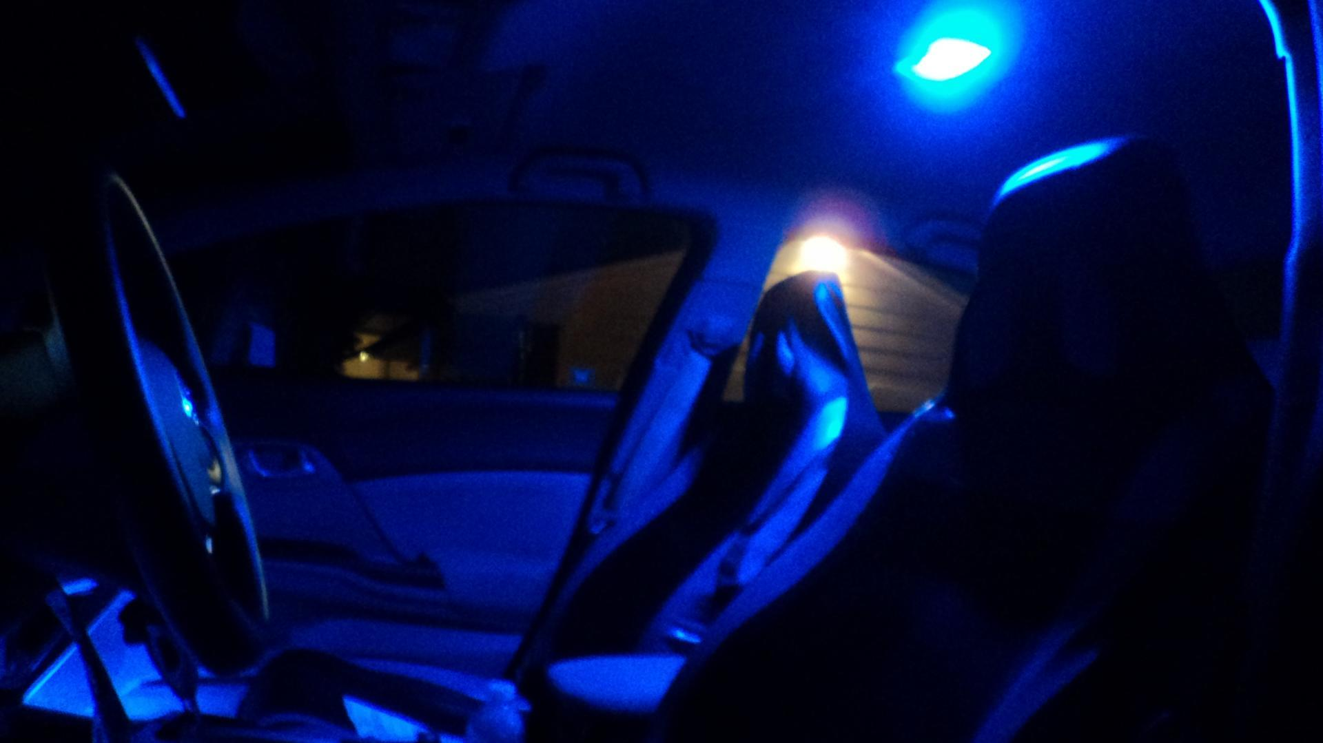 5 simple yet awesome car modifications automotive blog for Led glow interior lights installation